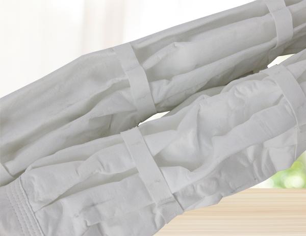 褶皱除尘布袋价格